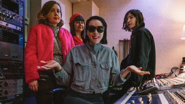 Sleater-Kinney Share New Track From St. Vincent-Produced Album