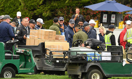 National News - U.S. Open Spectators Injured By Runaway Golf Cart