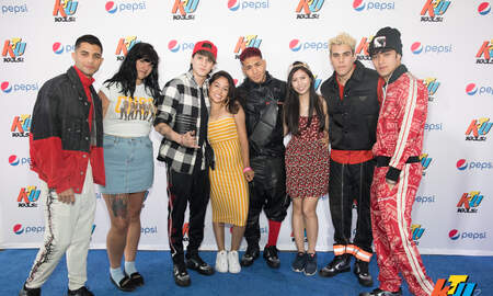 None - PHOTOS: CNCO Meet Fans Backstage at KTUphoria