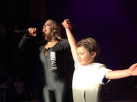 Watch Bebe Rexha Bring 6-Year-Old Fan Onto KTUphoria Stage