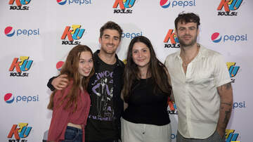 KTUphoria - PHOTOS: The Chainsmokers Meet Fans Backstage at KTUphoria