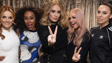 Elvis Duran -  Adele 'Got Drunk' With The Spice Girls After Their London Show