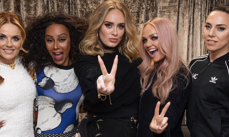 Entertainment News -  Adele 'Got Drunk' With The Spice Girls After Their London Show