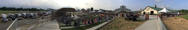A panorama at the amphitheater