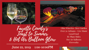 None -  Toast to Summer & Hot Air Balloon Glow