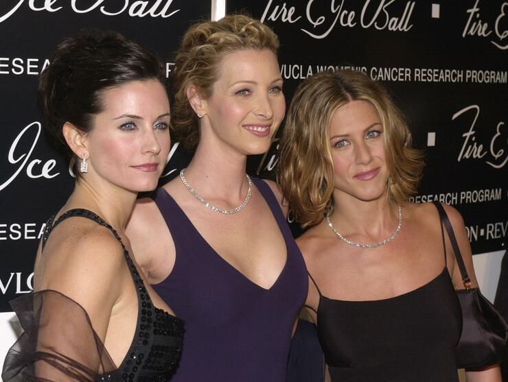 Courteney Cox Celebrates Birthday With Jennifer Aniston & Lisa Kudrow   iHeartRadio