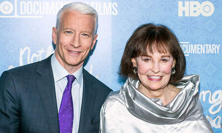 National News -  Fashion Designer Gloria Vanderbilt, Anderson Cooper's Mother, Dies At 95