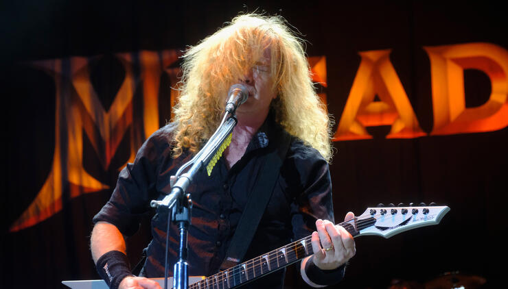 Megadeth's Dave Mustaine Reveals He Has Throat Cancer | iHeartRadio