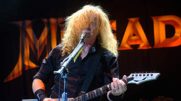 Maria Milito - Megadeth's Dave Mustaine Reveals He Has Throat Cancer