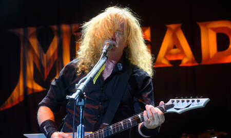 Rock News - Megadeth's Dave Mustaine Reveals He Has Throat Cancer