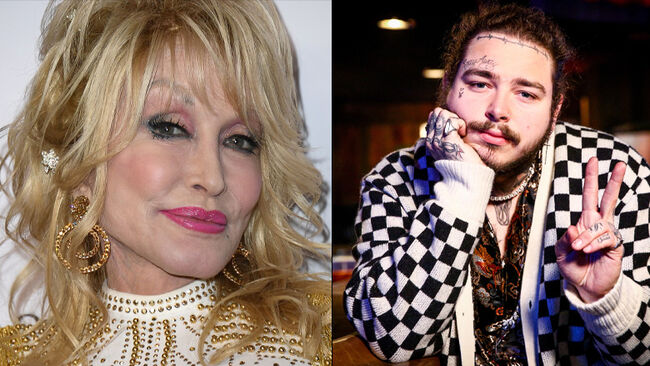 Dolly Parton Responds To Post Malone's Fashion Choices