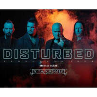 See Disturbed in Cleveland!