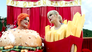 iHeartRadio Music News - This Is How Katy Perry Joined Taylor Swift's 'You Need To Calm Down' Video