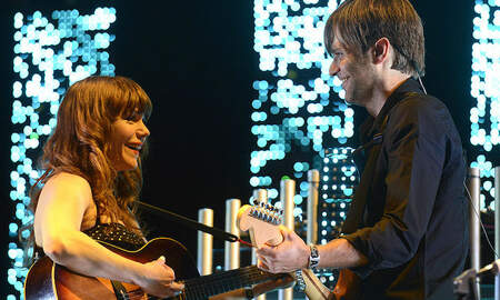 Trending - Death Cab For Cutie, Jenny Lewis Perform Postal Service's 'Nothing Better'