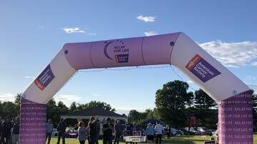 Photos - Adam Rivers and KC101 at Relay for Life in Newington on 6/14