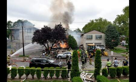 Local News - NJ Home Destroyed, 1 Injured In Explosion