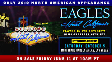Contest Rules - KZOK The Eagles Vegas flyaway Text-To-Win 6.11 – 6.16