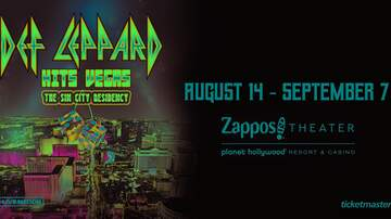 Contest Rules - KZOK Def Leppard Hits Vegas flyaway Text-To-Win 6.17 – 6.30 Rules