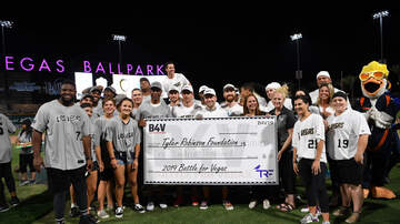 Vegas Golden Knights - PHOTOS: Battle For Vegas Charity Softball Game Hosted By Reilly Smith