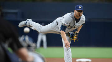 Brewers - Brewers manage just four hits, fall 2-0 to Padres