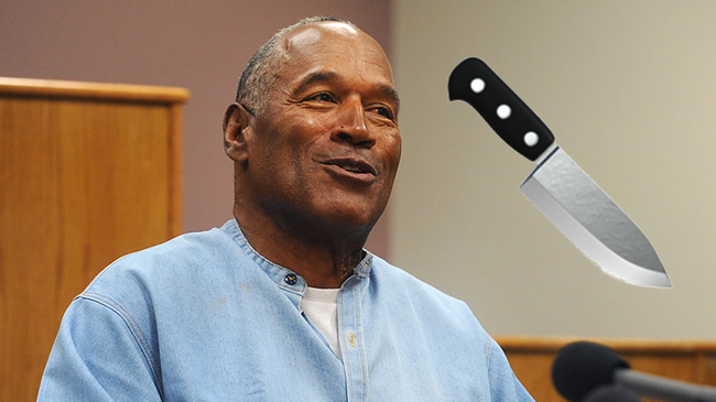 OJ Simpson Allegedly DMed Knife Emojis To Intimidate Man On Twitter