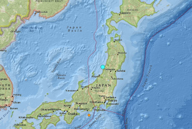 powerful 6.4 earthquake near western japan triggers Tsunami warning