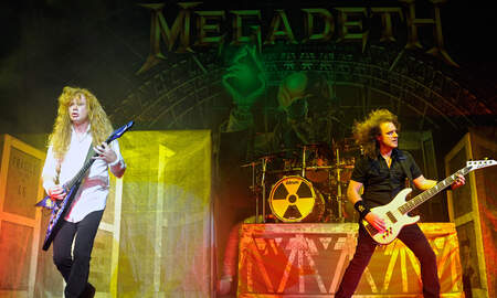 Rock News - Megadeth Is 'Optimistic' About Dave Mustaine's Cancer Recovery