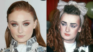 Entertainment News - Sophie Turner Says She's So Down to Play Boy George in Biopic