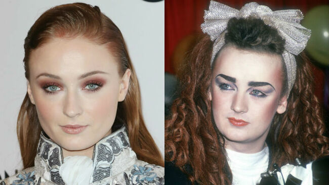 Sophie Turner, Boy George