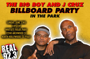 Join Us At The Big Boy and J Cruz Billboard Party In The Park