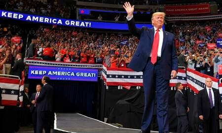 National News - President Donald Trump Kicks Off 2020 Campaign With Rally in Orlando, FL