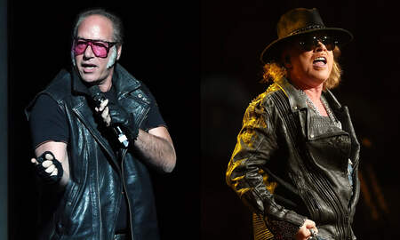 Rock News - Andrew Dice Clay Explains How He Set Guns N' Roses Reunion Into Motion