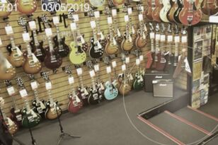 Haunted Guitar Store Posts Chilling Footage Of Ghost