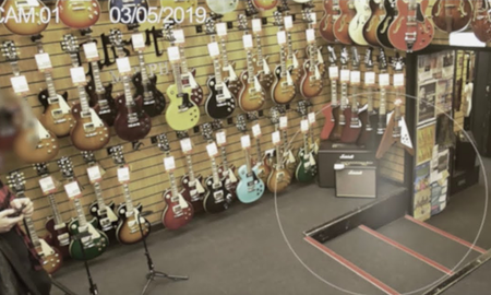 Entertainment News - Haunted Guitar Store Posts Chilling Footage Of Ghost