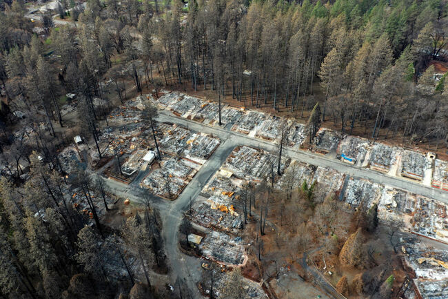 PG&E Takes Blame For California's Deadliest Wildfire