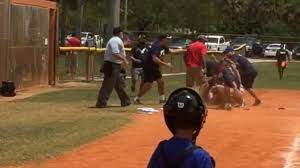Dino - Insane Parents' Fight At Little League Game