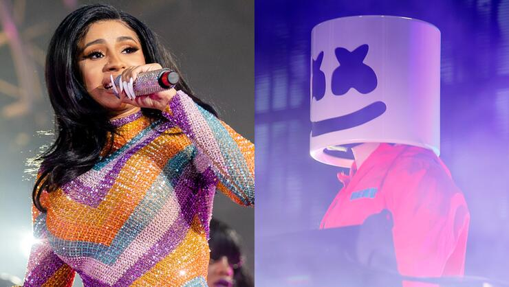 Cardi B's New Collaboration With Marshmello Is Dropping Very Soon | iHeartRadio