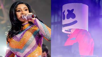 Trending - Cardi B's New Collaboration With Marshmello Is Dropping Very Soon