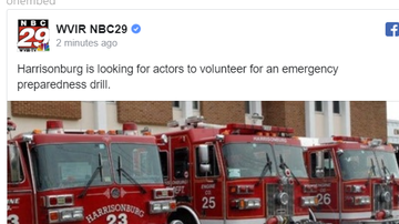 Steve - Volunteers are needed for an upcoming drill on emergency preparedness.