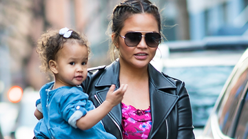 Entertainment News - Chrissy Teigen Mom-Shamed After Sharing Luna's First Dentist Visit