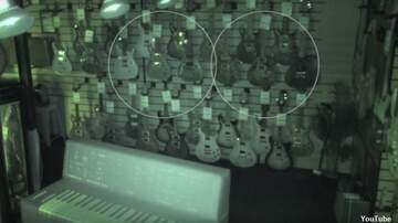 Coast to Coast AM with George Noory - Watch: Guitar Shop Security Camera Captures Ghostly Activity?