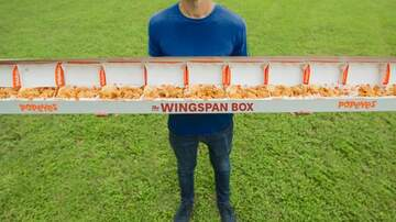 Klinger - Popeyes Introduces The Wingspan Box Of Chicken Measuring 82-Inches Long