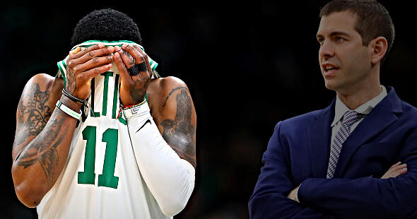 Jeff Goodman Says Kyrie Irving Didn't Respect Anyone in Boston