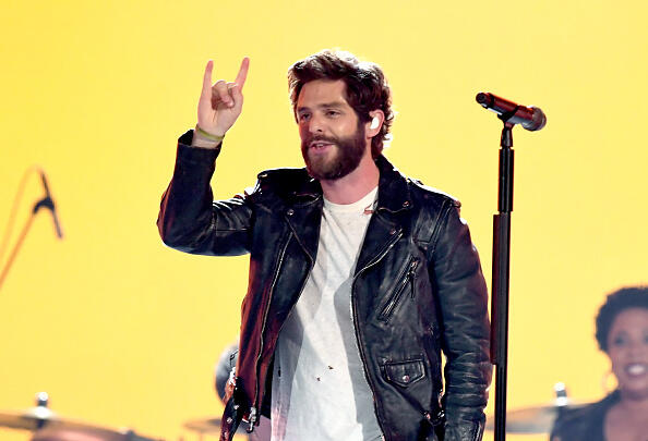 Thomas Rhett Challenges Luke Combs To The Dance Or Donate Challenge
