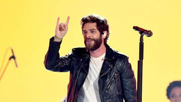 The Tom - Thomas Rhett is celebrating his 7th #1!