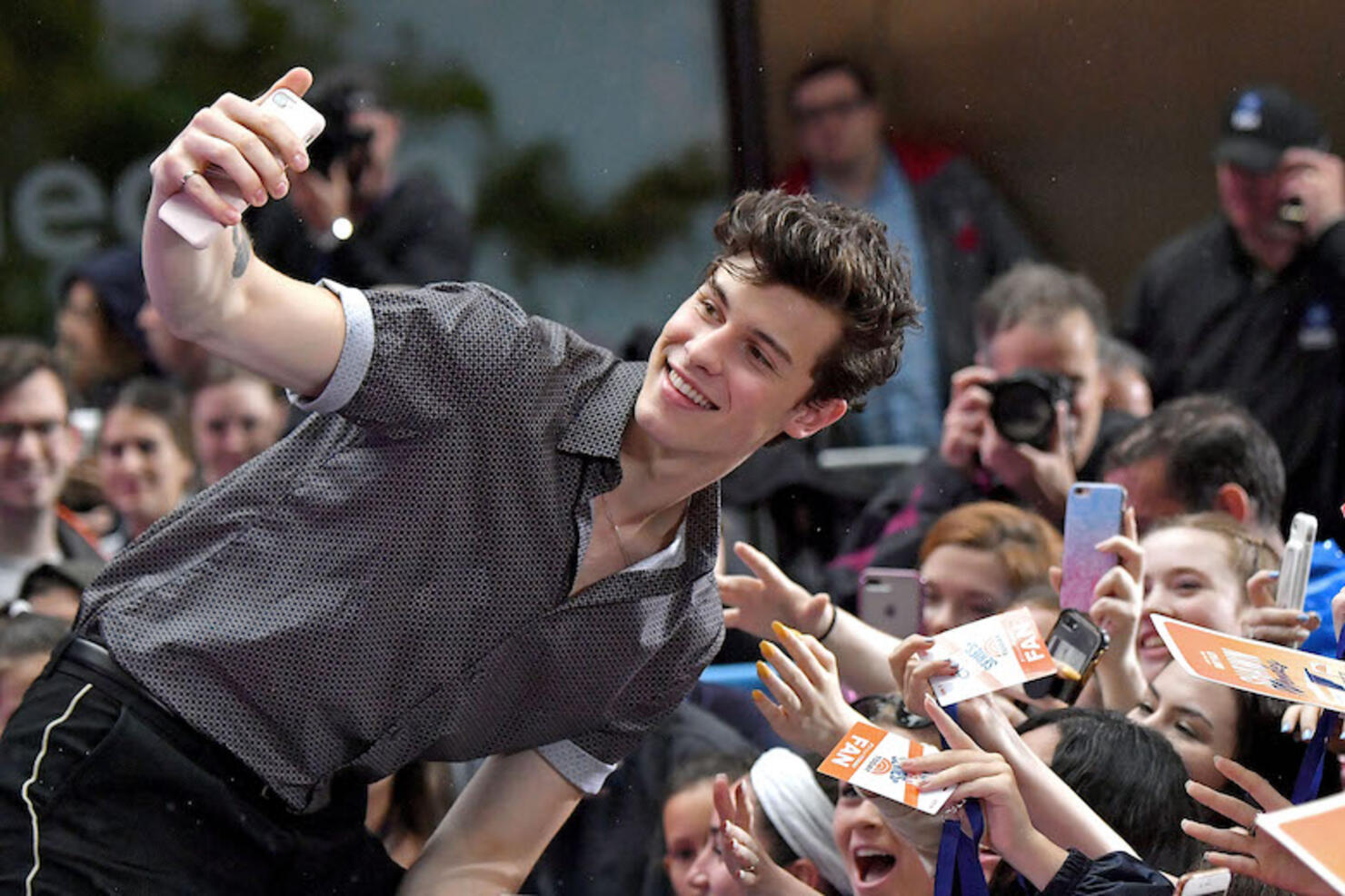 """Shawn Mendes Perform's On NBC's """"Today"""""""