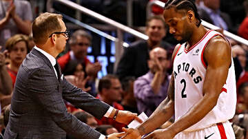 The Dan Patrick Show - Nick Nurse: Raptors Esteemed Medical Staff Could Get Kawhi Leonard to Stay