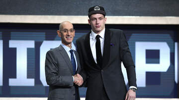 Sports Desk - Spurs Sign First Round Pick Luka Samanic