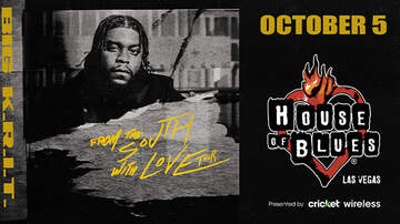 None - Big K.R.I.T. From The South With Love Tour at House of Blues Las Vegas