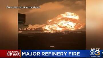 KC O'Dea Show - Massive Explosion At Oil Refinery In  Philly!